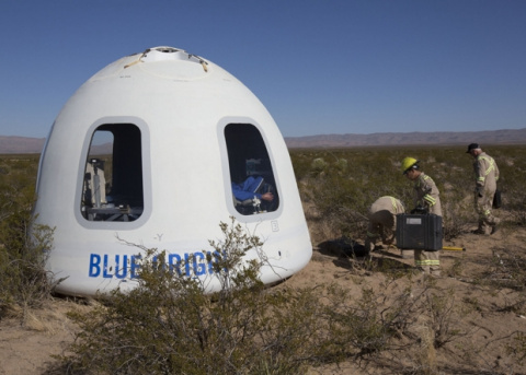 Blue Origin испытала новую в…
