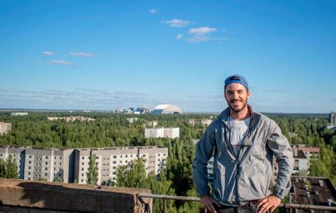 Чернобыльская гостиница откр…