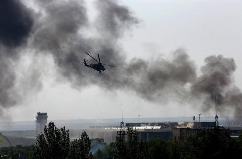 В этот день война пришла в Донецк. Денис Селезнев