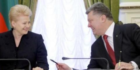 В Литве готовят свержение Порошенко