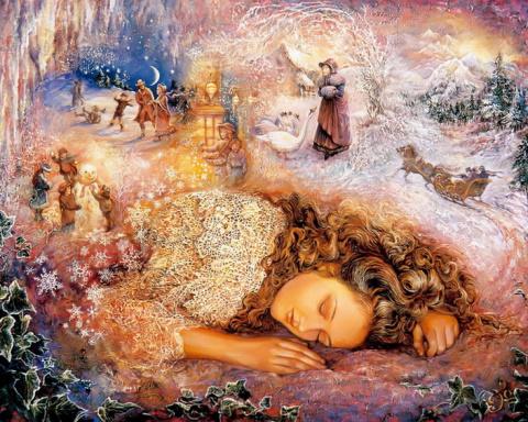 Александр Соколов. Зимние сны