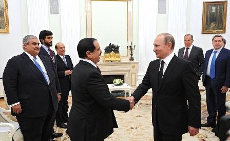 Визит короля: Бахрейн откроет перед Россией врата в Персидский залив?