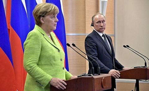 Встреча Путина и Меркель будет иметь тайные последствия для Украины