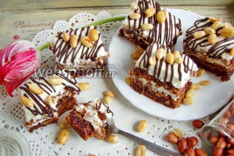 Шоколадные пирожные «Прелесть»