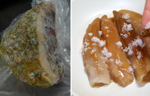 Копальхен – опасный деликатес, который могут есть только коренные жители Севера