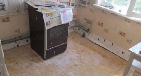Кухню 5 кв.м он превратил в …