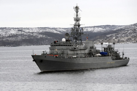 Передача ВМФ корабля-разведч…