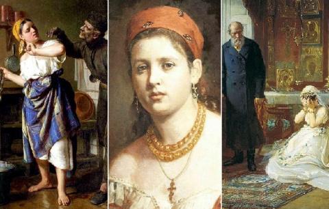 """От бытовых сцен до картин в жанре """"ню"""": Такие разные женщины из XIX века на правдивых полотнах Фирса Журавлева"""