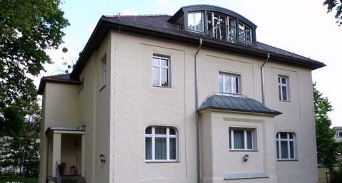 Дрезден.В этом доме работал Путин В.В.