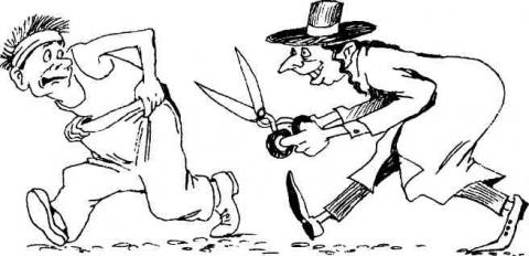 Горелки, розги и ножницы. Ск…