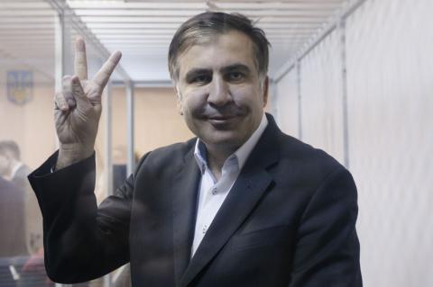 Саакашвили на свободе