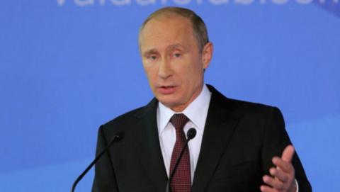 Владимир Путин: «Выбора другого нет. Надо бороться»
