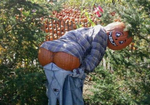 Как сделать Пугало огородное