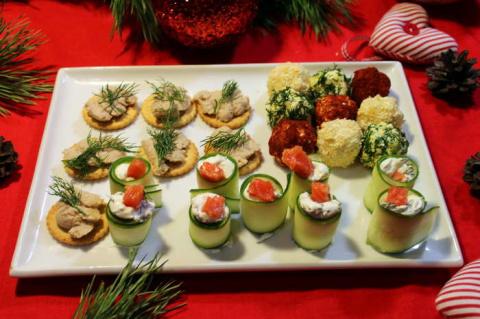 3 простых закуски на новый год. Не дорого, быстро и вкусно!