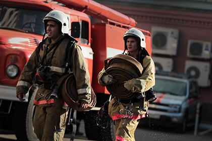 Пожар в московском НИИ имени…