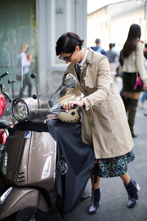 On the Street…Scooter Style, Milan