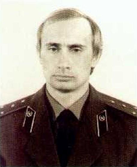 Дрезден.Капитан Путин В.В.