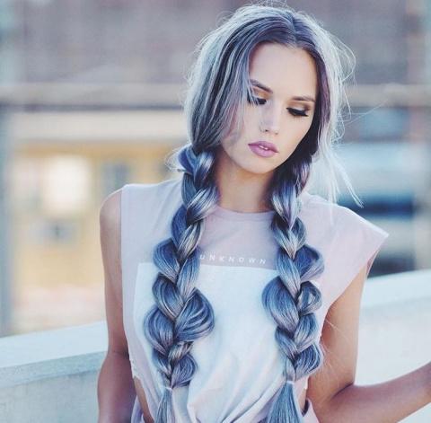 Прически с косами - 15 фото примеров