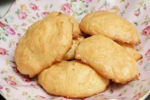 Сырное печенье на завтрак