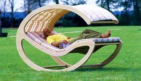 Кресло-качалка из фанеры сво…