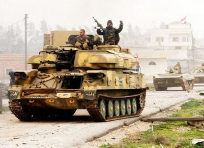 Попытки Сирийской армии дебл…