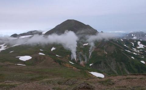 Камчатский вулкан Камбальный…