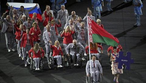 Белорусские паралимпийцы с т…