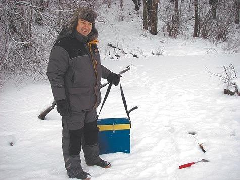 Рыбалка зимой на малой глубине
