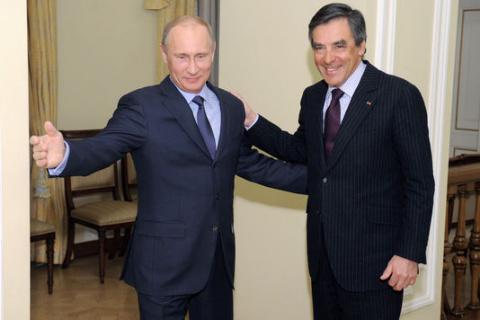 Le Monde:  Путин и Фийон - г…