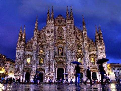 Милан - столица региона Ломбардия и второй по величине город Италии.