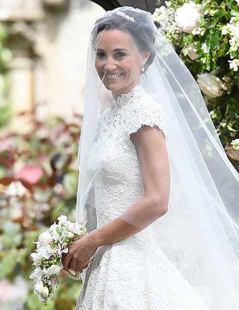 Пиппа Миддлтон вышла замуж за Джеймса Мэттьюса: образ невесты