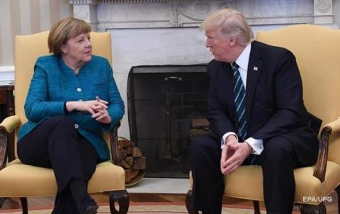 Меркель и Трамп обсудили кризис на Украине