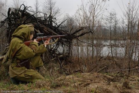 Снайпер из ЛНР открыл лицо и…