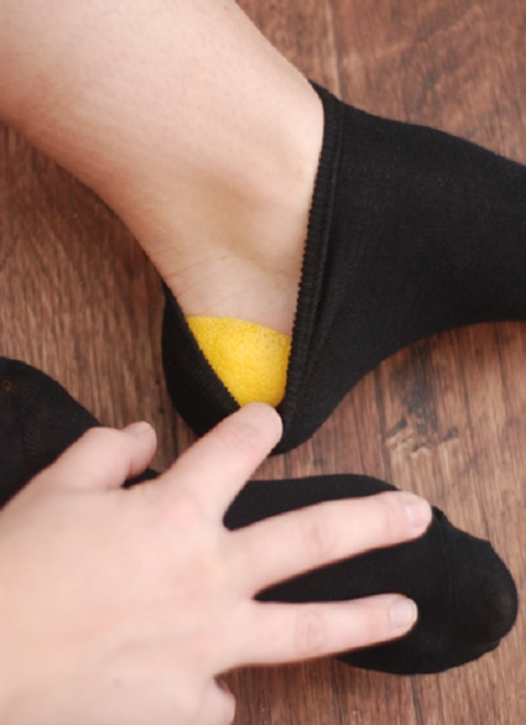 Лимонная корочка в носок и п…
