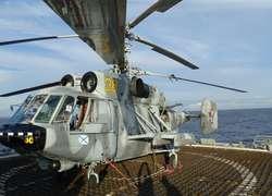 Вертолёт Ка-29 на борту БДК …