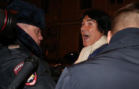 """Маруани """"наехал"""" на Киркорова и попал в полицию"""