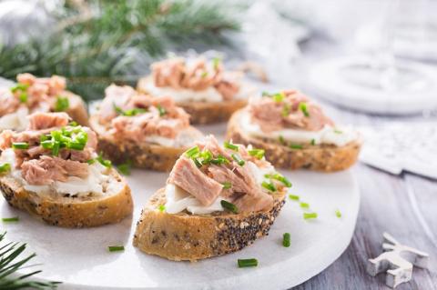 Бутерброды на Новый год: топ…