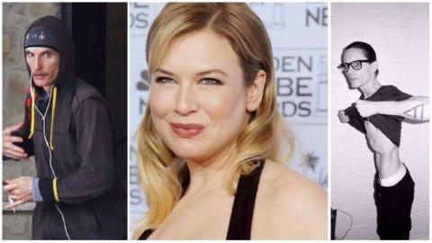 Как менялись в весе актеры Голливуда