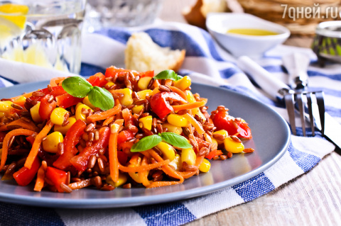 Мексиканский салат «Фиеста»:…
