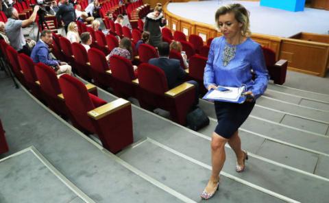 Трусливой выходкой назвала Захарова слова постпреда Украины о Чуркине