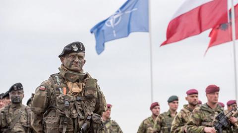 НАТО начали год с рекордных поставок военной силы к границам РФ