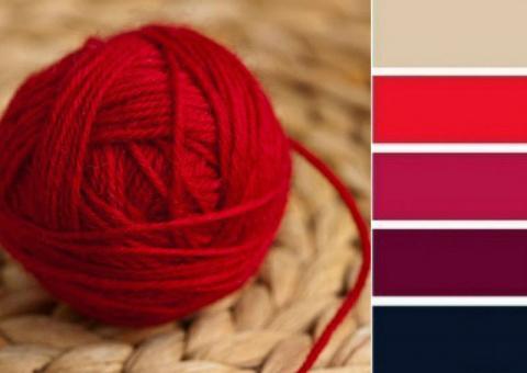 Полезные советы для тех, кто вяжет —  как подобрать пряжу правильных цветов