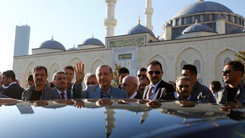 Эрдоган потерял сознание во …