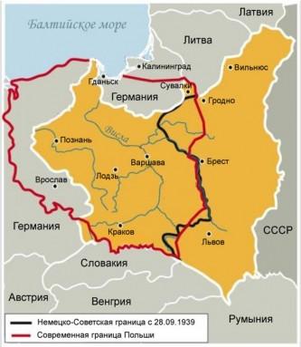 Украину взбесила карта Польш…