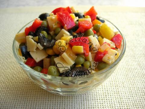 Новогодний салат «КОНФЕТТИ» за 10 минут до прихода гостей