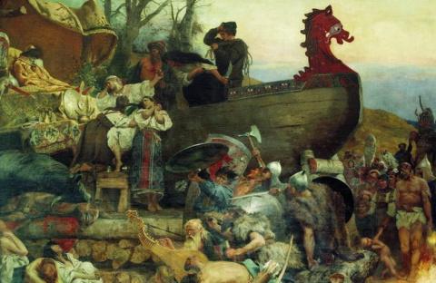 Варяги создавали рабовладельческую Русь