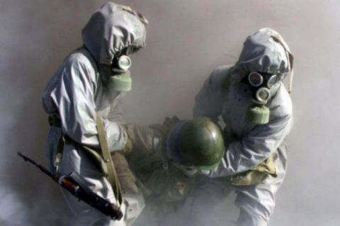 Террористы в Сирии снова применили химическое оружие,  ООН молчит!