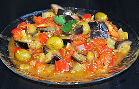 Капоната, овощи по-сицилийск…
