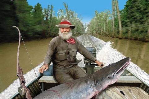 С луком и стрелами на Рыб - Монстров! /Bowfishing