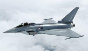 Британские истребители «Тайфун» будут патрулировать небо над Черным морем
